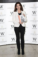 Nigella Lawson, signing copies of At My Table