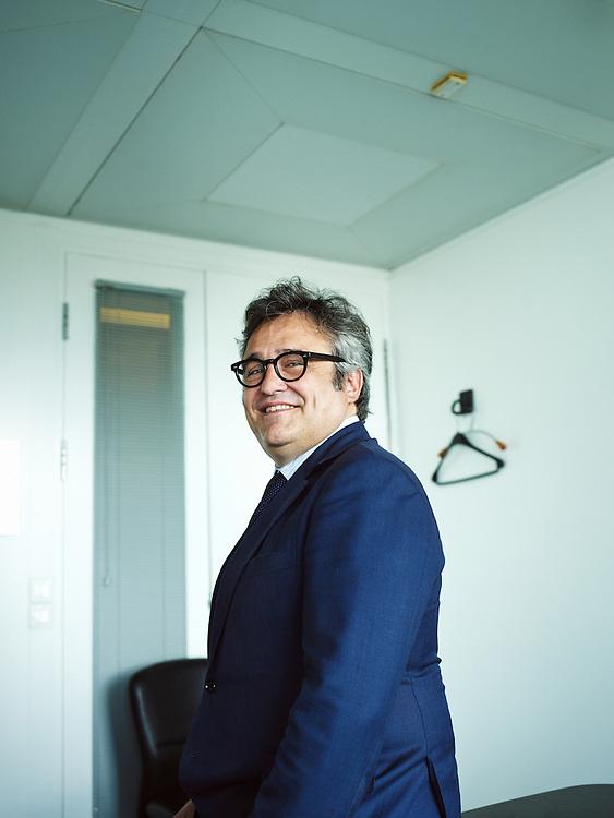 Puteaux, France. April 28, 2014. Philippe Labonne, Africa Logistics' Executive Vice President. Photo: Antoine Doyen
