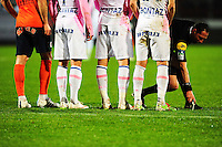Illustration Bombe - Spray - 21.03.2015 - Evian Thonon / Montpellier - 30eme journee de Ligue 1 -<br />