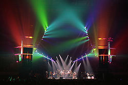 "The Grateful Dead performing ""Space"" at the Nassau Coliseum, Uniondale NY, 30 March 1990. Wide Lighting Look Image Capture."