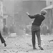 &copy; Gilles Caron, Manifestations anticatholiques &agrave; Londonderry ,1969, Fondation Gilles Caron<br /> <br /> http://www.fondationgillescaron.org/