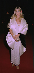 The MARCHIONESS OF MILFORD HAVEN at an exhibition in London on 1st October 1997.MBU 18