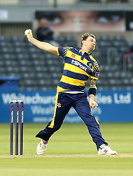 Dale Steyn of Glamorgan bowls - Mandatory by-line: Robbie Stephenson/JMP - 10/06/2016 - CRICKET - Brightside Ground - Bristol, United Kingdom - Gloucestershire v Glamorgan - NatWest T20 Blast