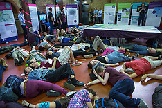 2019-07-18 Extinction Rebellion die-in at Heathrow consultation