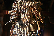 detail of theGuardian King of the West, Todaiji, inside the Todai, The Great Buddha, temple Nara Japan