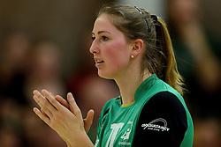 12-04-2014 NED: Finale vv Alterno - Sliedrecht Sport, Apeldoorn<br /> Alterno pakt het kampioenschap door Sliedrecht voor de derde maal te verslaan / Carlijn Jans