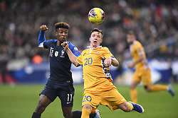 November 14, 2019, Saint Denis, FRANCE: 11 Kingsley COMAN (fra) - 20 Vadim Rata  (Credit Image: © Panoramic via ZUMA Press)