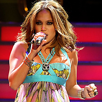 Jennifer Lopez performs during the Superstar Concert at the Amway .Arena in Orlando, Florida on November 4, 2007..(Photo credit: Alex Menendez)