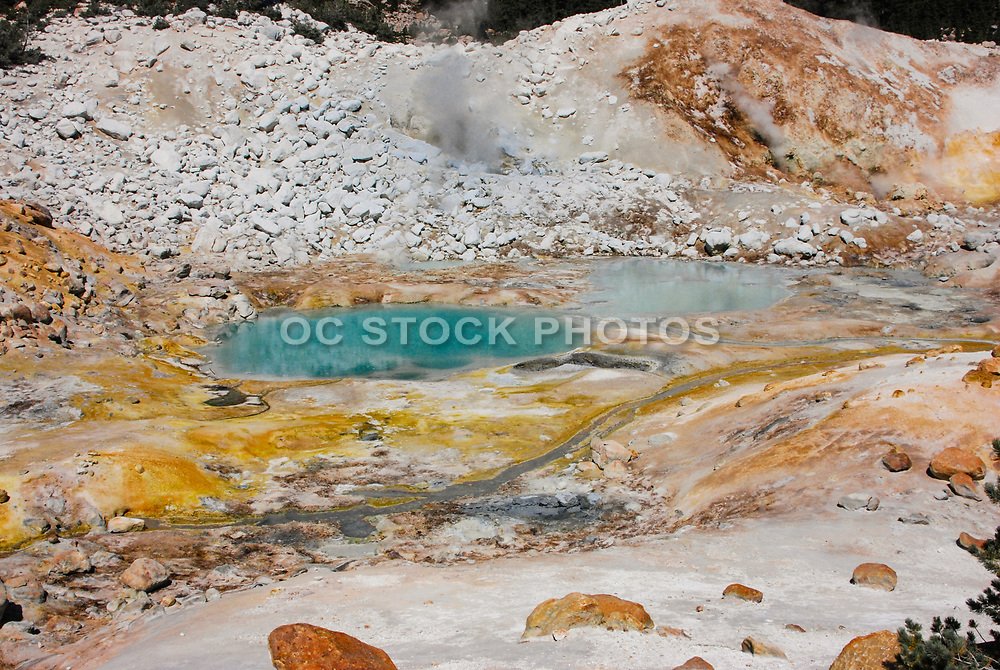 Bumpass Hell at Lassan Volcanic National Park