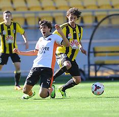 Wellington-Football, A-League, Phoenix v Brisbane Roar, December 14