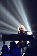 De 3FM Awards 2014 in de Gashouder, Amsterdam.<br /> <br /> Op de foto:  Jacqueline Govaert
