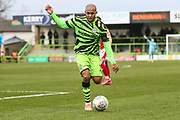 Forest Green Rovers Robert Hall(15), on loan from Oxford United during the EFL Sky Bet League 2 match between Forest Green Rovers and Walsall at the New Lawn, Forest Green, United Kingdom on 8 February 2020.