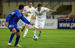 Darijo Biscan of Celje at 30th Round of Slovenian First League football match between NK Domzale and NK MIK CM Celje in Sports park Domzale, on April 25, 2009, in Domzale, Slovenia. Celje won 3:0. (Photo by Vid Ponikvar / Sportida)