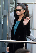 18.FEBRUARY.2013. PARIS<br /> <br /> SPRING BREAKERS CAST MEMBERS VANESSA HUDGENS, SELENA GOMEZ AND ASHLEY BENSON ARE SPOTTED ARRIVING AT THE NRJ RADIO STATION IN PARIS.<br /> <br /> BYLINE: EDBIMAGEARCHIVE.CO.UK<br /> <br /> *THIS IMAGE IS STRICTLY FOR UK NEWSPAPERS AND MAGAZINES ONLY*<br /> *FOR WORLD WIDE SALES AND WEB USE PLEASE CONTACT EDBIMAGEARCHIVE - 0208 954 5968*