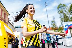 Ula Furlan Passion 4Life Reanault Ambassador before start of Wings for Life world marathon in Ljubljana, Slovenia on 7th of May, 2017 .Photo by Grega Valancic / Sportida