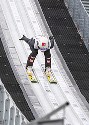 01.02.2019, Energie AG Skisprung Arena, Hinzenbach, AUT, FIS Weltcup Ski Sprung, Damen, Qualifikation, im Bild Chiara Hoelzl (AUT) // Chiara Hoelzl (AUT) during the woman's Qualification Jump of FIS Ski Jumping World Cup at the Energie AG Skisprung Arena in Hinzenbach, Austria on 2019/02/01. EXPA Pictures © 2019, PhotoCredit: EXPA/ Reinhard Eisenbauer