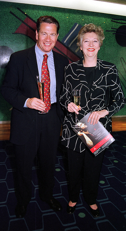 MR & MRS MICHAEL PORTILLO he is the Conservative MP<br />  at a concert in London on 3rd May 2000.ODK 31
