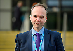 © Licensed to London News Pictures. 03/10/2017. Manchester, UK. GAVIN BARWELL, chief of staff to Theresa May, seen on day three of the Conservative Party Conference. The four day event is expected to focus heavily on Brexit, with the British prime minister hoping to dampen rumours of a leadership challenge. Photo credit: Ben Cawthra/LNP