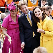 NLD/Makkum/20080430 - Koninginnedag 2008 Makkum, laurentien, Floris en partner Aimee Söhngen