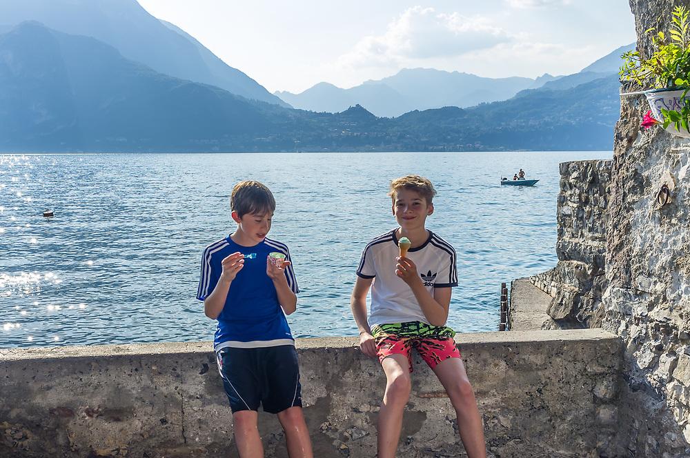 Varenna, Lago de Lecco, Italy