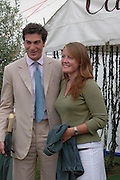 Ed  Cutsem and Lady Tamara Cutsem	 . Cartier International Day at Guards Polo Club, Windsor Great Park. July 24, 2005. ONE TIME USE ONLY - DO NOT ARCHIVE  © Copyright Photograph by Dafydd Jones 66 Stockwell Park Rd. London SW9 0DA Tel 020 7733 0108 www.dafjones.com