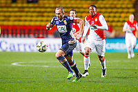 Olivier Sorlin / Anthony Martial  - 21.01.2015 - Monaco / Evian Thonon   - Coupe de France 2014/2015<br /> Photo : Sebastien Nogier / Icon Sport