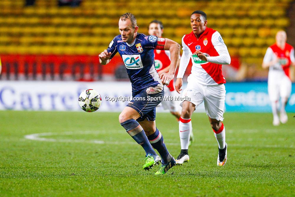 Olivier Sorlin / Anthony Martial  - 21.01.2015 - Monaco / Evian Thonon   - Coupe de France 2014/2015<br /> Photo : Sebastien Nogier / Icon Sport