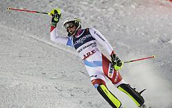 08.02.2019, WM Strecke, Aare, SWE, FIS Weltmeisterschaften Ski Alpin, alpine Kombination, Slalom, Damen, im Bild Wendy Holdener (SUI) aus der Schweiz ist die alte und neue Weltmeisterin in der Super Kombination // Wendy Holdener (SUI) aus der Schweiz ist die alte und neue Weltmeisterin in der Super Kombination reacts after the Slalom competition of Alpine combination of the ladie's of FIS Ski World Championships 2019. WM Strecke in Aare, Sweden on 2019/02/08. EXPA Pictures © 2019, PhotoCredit: EXPA/ SM<br /> <br /> *****ATTENTION - OUT of GER*****