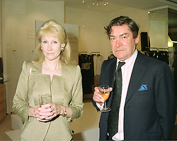 LADY ZINNIA JUDD and MR SANDY McCARDLE at a party in London on 7th May 1997.LYD 4