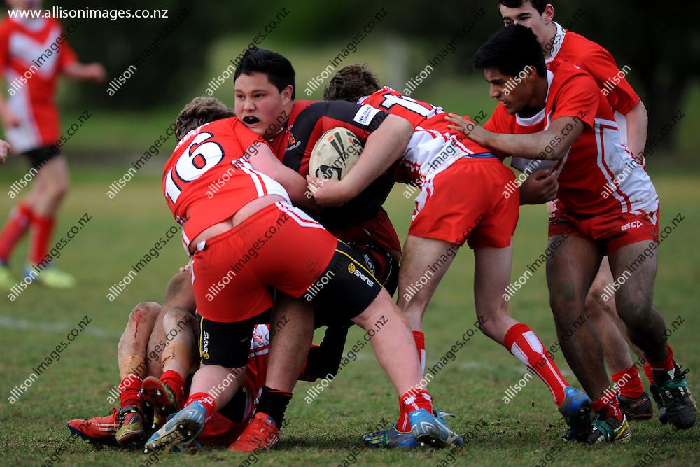 South Island 15's & 17's Rugby League Tournament, held at Hancock Park, Dunedin, Otago, New Zealand, 7, 8, 9, 10 July 2014. Credit: Joe Allison / allisonimages.co.nz