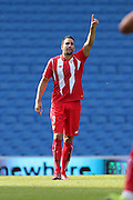 Emil Rami during the Pre-Season Friendly match between Brighton and Hove Albion and Sevilla at the American Express Community Stadium, Brighton and Hove, England on 2 August 2015. Photo by Stuart Butcher.