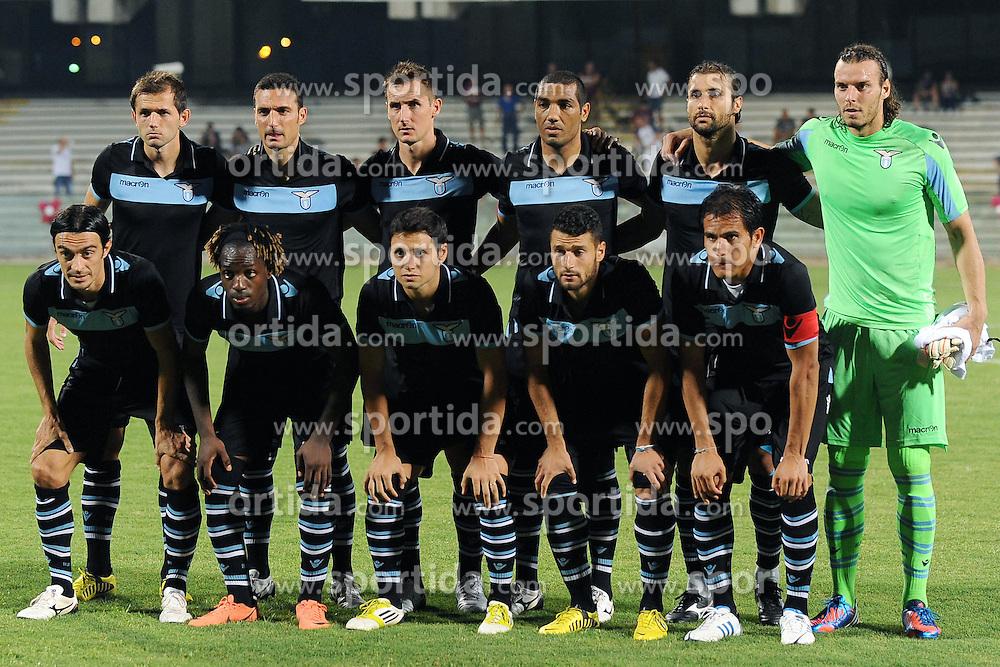 Football: Italy, Serie A, Lazio Rom, Salerno, 07.08.2012.Teamphoto.© pixathlon.ITA AND FRA OUT !