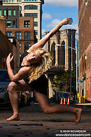 Brooklyn Bridge Dumbo Dance As Art New York Photo Shoot with dancer Taryn Vander Hoop