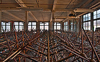 An abandoned silk mill in Maryland.