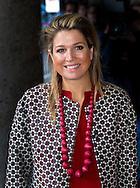 Utrecht, 04-02-12014<br /> Queen Maxima of The Netherlands attends Meeting Serious Social Value.<br /> .<br /> <br /> Photo: Bernard Ruebsamen/Royalportraits