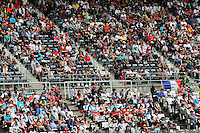Fans in the grandstand.<br /> Japanese Grand Prix, Saturday 4th October 2014. Suzuka, Japan.