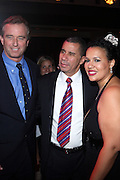 l to r: Robert Kennedy Jr. , Governor David Patterson and Elinor Tatum at The Amsterdam News 100th Anniversary Gala held at the David H. Koch Theater at Lincoln Center on November 30, 2009 in New York City. © Terrance Jennings / Retna Ltd.