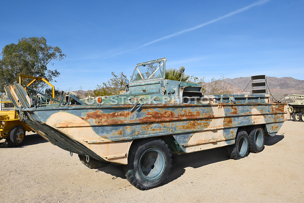 1944 Amphibian DUKW-353 on display at the General Patton Memorial Museum