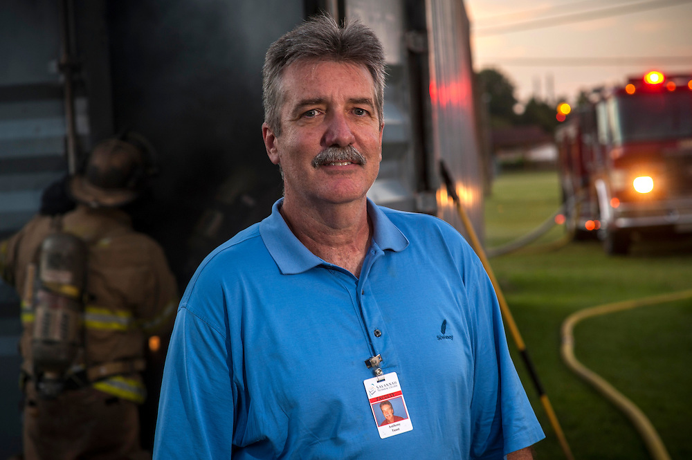 Savannah Technical College Tony Faust MS, EFO, Battalion Chief (Ret.) Fire Science Instructor/Program Manager, Tuesday, August 26th, 2014 in Savannah, Ga.  (STC Photo/Stephen B. Morton)