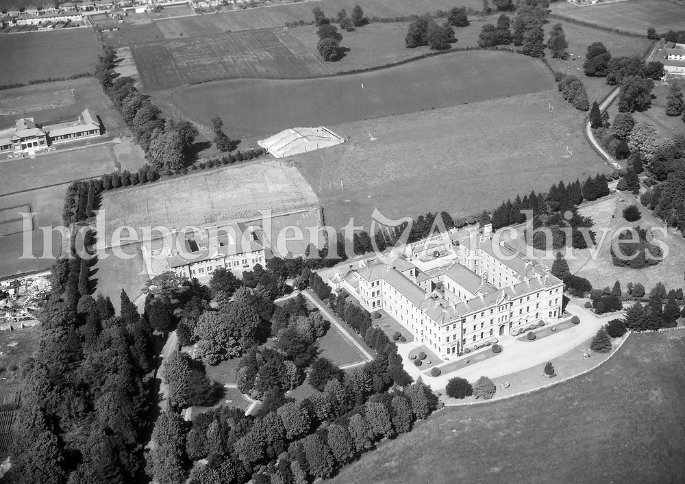 A382 St Mary's Marino.   14/10/55. (Part of the Independent Newspapers Ireland/NLI collection.)<br /> <br /> These aerial views of Ireland from the Morgan Collection were taken during the mid-1950's, comprising medium and low altitude black-and-white birds-eye views of places and events, many of which were commissioned by clients. From 1951 to 1958 a different aerial picture was published each Friday in the Irish Independent in a series called, 'Views from the Air'.