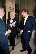 THE MARQUESS OF LONDONDERRY; LORD AIRLIE; ZAC GOLDSMITH, Book launch of Lady Annabel Goldsmith's third book, No Invitation Required. Claridges's. London. 11 November 2009