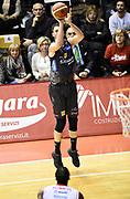 Diego Flaccadori<br /> Grissin Bon Pallacanestro Reggio Emilia - Dolomiti Energia Aquila Basket Trento<br /> Lega Basket Serie A 2016/2017<br /> Reggio Emilia, 26/02/2017<br /> Foto A.Giberti / Ciamillo - Castoria
