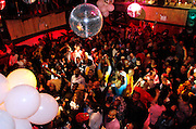 Atmosphere from the second floor during the Underground Network reunion event at Lucky Cheng's in New York City, New York on January 18, 2013.