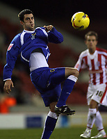 Photo: Paul Thomas.<br /> Stoke City v Cardiff City. Coca Cola Championship. 28/11/2006.<br /> <br /> Cardiff player Steven Thompson.