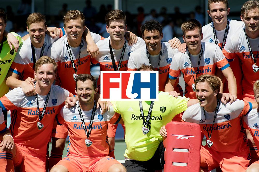 BREDA - Rabobank Hockey Champions Trophy<br /> 3rd/4th place The Netherlands - Argentina<br /> The Netherlands win the bronze medal.<br /> Photo: <br /> COPYRIGHT WORLDSPORTPICS FRANK UIJLENBROEK