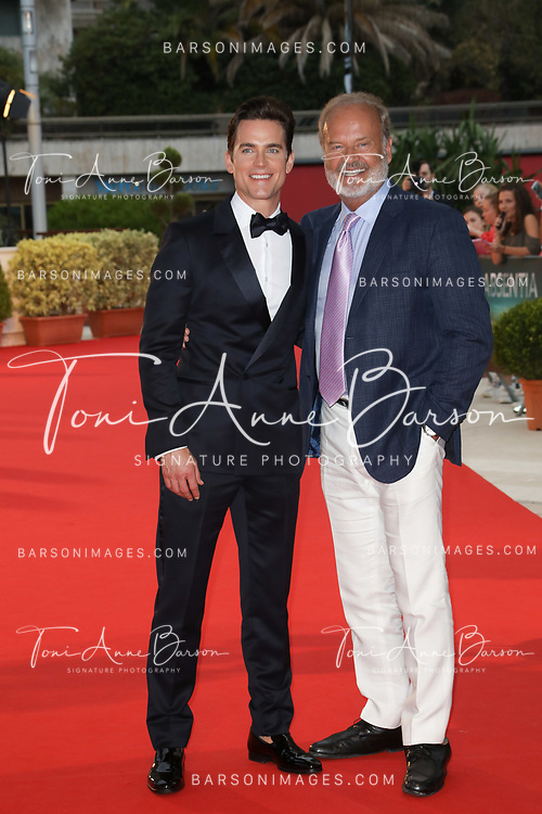 """MONTE-CARLO, MONACO - JUNE 18:  Matthew Bomer and Kelsey Grammer attends """"The Last Tycoon"""" photocall on June 18, 2017 at the Grimaldi Forum in Monte-Carlo, Monaco.  (Photo by Tony Barson/FilmMagic)"""