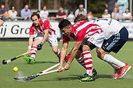 Tilburg - Tilburg - HDM Heren, Hoofdklasse Hockey Heren, Seizoen 2017-2018, 08-04-2018, Tilburg - HDM 5-1, Javier Osses (HDM) <br /> <br /> (c) Willem Vernes Fotografie