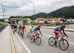 Jure Golcer and Radoslav Rogina of Adria Mobil during Stage 4 of 23rd Tour of Slovenia 2016 / Tour de Slovenie from Rogaska Slatina to Novo mesto (165,5 km) cycling race on June 19, 2016 in Slovenia. Photo by Vid Ponikvar / Sportida
