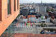Museum aan de Stroom - MAS, Antwerp. Architect Neutelings Riedijk