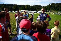 Bristol City Under 23's Assistant Coach Alex Ball attends a Bristol City Community event at the Bristol Balloon Fiesta - Mandatory by-line: Dougie Allward/JMP - 10/08/2017 - FOOTBALL - Ashton Court - Bristol, England - Bristol City at Balloon Fiesta